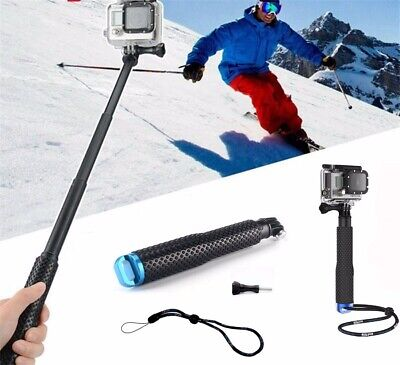Waterproof Camera Monopod Selfie Stick Telescopic Pole for GoPro Hero 7 6 5 4 3