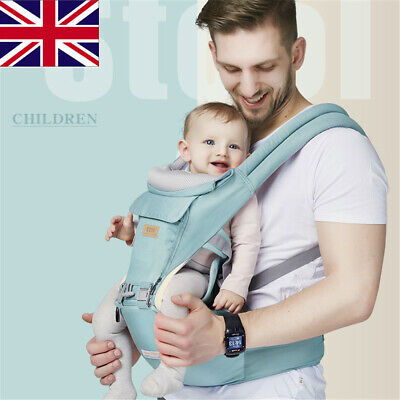 New Design Infant Toddler Ergonomic Baby Carrier with Hipseat For Baby Infant