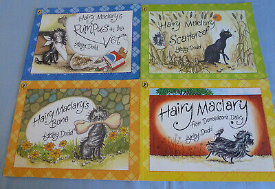 Hairy Maclary Dog And Friends  Children's 4 Book Bundle Lynley Dodd