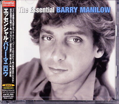 Barry Manilow-The Wssential Barry Manilow-Japan 2 Cd H40