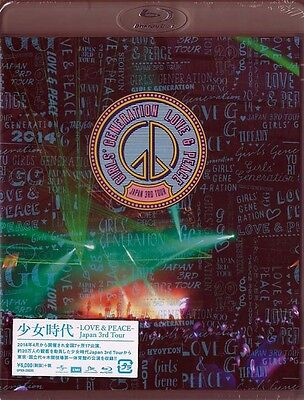 Girls' Generation-Girls' Generation -Love&Peace-Japan 3Rd Tour-Japan Blu-Ray O75