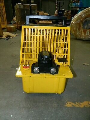 Enerpac 10,000 psi Air-Hydraulic Pump & Jack PAM1042