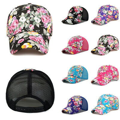 0ce845459 BASEBALL CAP WOMEN Girl Snapback Caps Hats For Women Fashion Flower ...