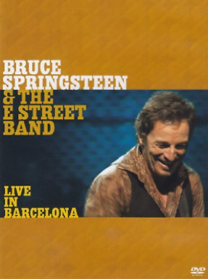 Bruce Springsteen and the E Street Band: Live in Barcelona DVD NEW