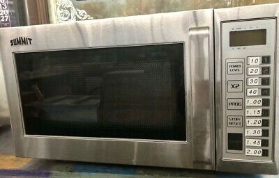 Summit Commercial Microwave