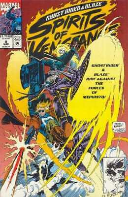 Ghost Rider/Blaze: Spirits of Vengeance #8 in NM + cond. Marvel comics [*2p]