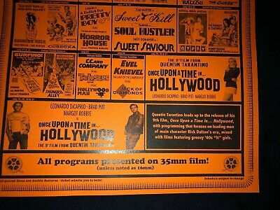Quentin Tarantino Memorabilia ONCE UPON A TIME IN HOLLYWOOD
