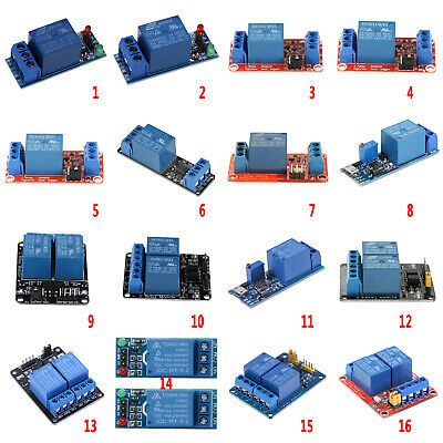 5/12/24V 1/2 Channel Relay Board Module Optocoupler for Arduino PIC AVR DSP ARM