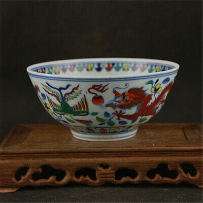 Chinese ancient antique hand make Thin-bodied Porcelain Bowl