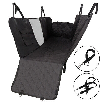 Pet Dog Car Seat Covers Hammock for Cars/Trucks/SUV Back Seats with Mesh Window