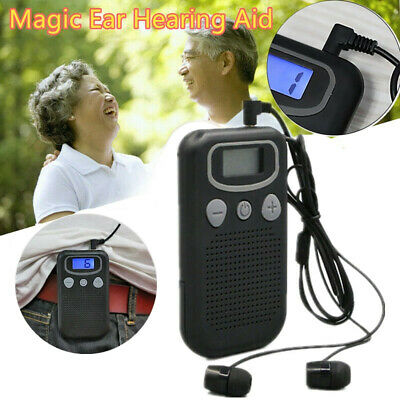 Atomic Beam Magic Ear Digital Display Mobile Hearing Aid Booster Sound DE