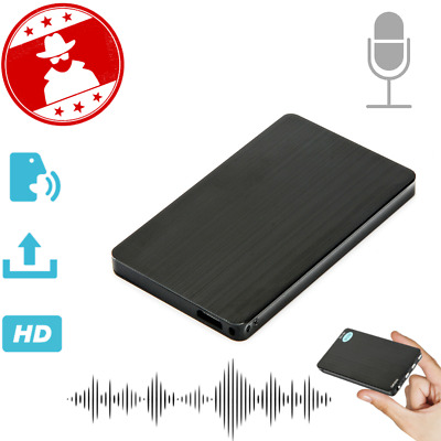Mini Hidden Audio Recorder Voice Activated Listening Device 96 Hours 8GB 2019