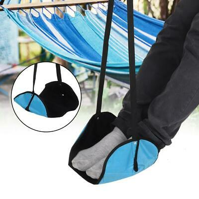 Portable Comfy Hanger Travel Airplane Footrest Hammock Office Feet Rest Relax