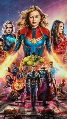 Avengers: Endgame (2019) Movie Art Silk Poster 12x18 24x36