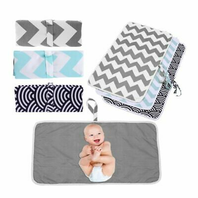 Washable&Foldable Baby Diaper Changing Mat Travel Home Change Play Mat Baby Care
