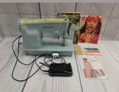 Working Vintage SINGER Electric Sewing Machine Model 357
