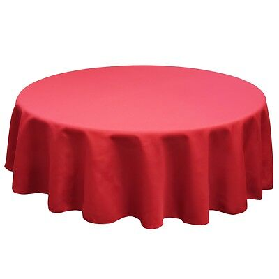 8ft Polyester Table Rectangular SimplyPoly Polyester Tablecloth In 33+ Colors