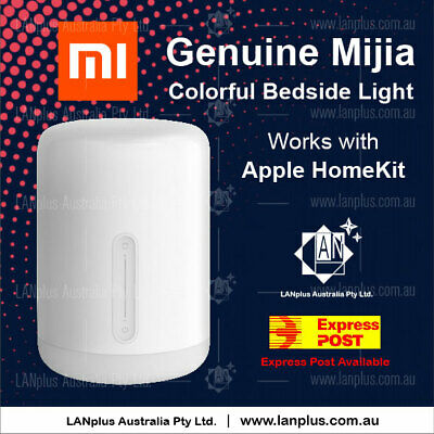 Genuine Xiaomi Mi Mijia Smart Bedside Lamp 2 Voice Control Touch Table Dimmable