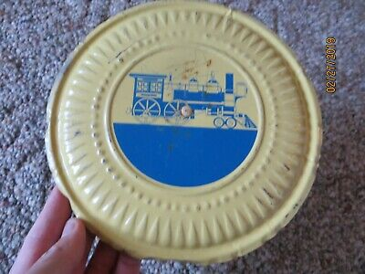 Stove Pipe Topper With Steam Engine Locomotive Train With Clip Flue Cover