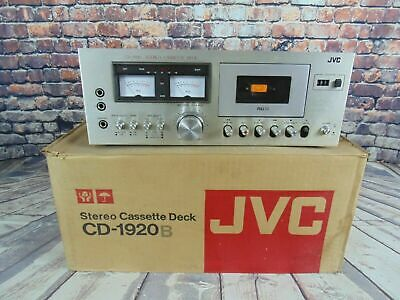 JVC CD-1920B Cassette Deck Tape Player Hifi Separate High End Audiophile Used