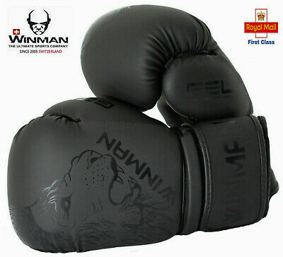 pro Boxing Gloves MMA Mitts  Sparring kickboxing Punch Bag Muay Thai Training