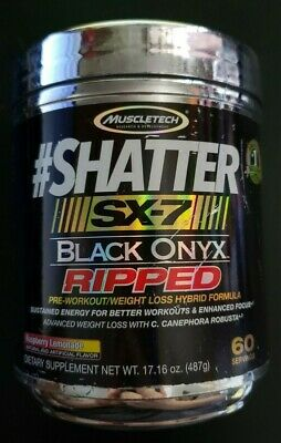 MUSCLETECH, SHATTER RIPPED SX-7 Revolution Ultimate Pre-Workout