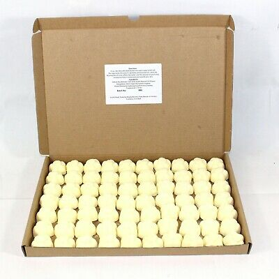Bath Bombs Bizzy Bee - Honey scented 70 x 10g Flowers less mess reduced plastic