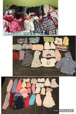 Baby Girls 12-18 Months Clothes Bundle 88 Items