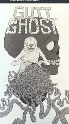 Gutt Ghost 1 Ashcan (Skull Variant) Extremely rare and limited + FCBD W/sketch