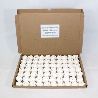 Bath Bombs Coconut scented 70 x 10g Flowers less mess reduced plastic