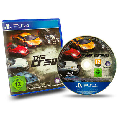 PS4 Playstation 4 Spiel The Crew in Ovp