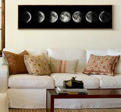 The Moon Phases Canvas