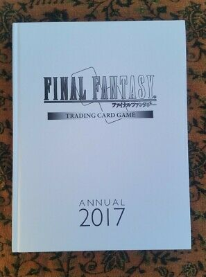 Final Fantasy TCG Trading Card Game limited Annual 2017 Book english/japanese