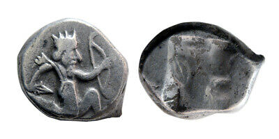 PCW-A528-ACHAEMENID EMPIRE. Time of Artaxerxes II to Artaxerxes III. AR Siglos.
