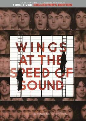 PAUL McCARTNEY&WINGS / WINGS AT THE SPEED OF SOUND 1CD 2DVD