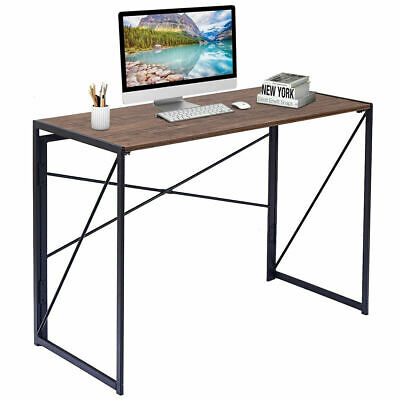 Folding Writing Computer Desk Modern Simple Study Desk Laptop Table Home Office