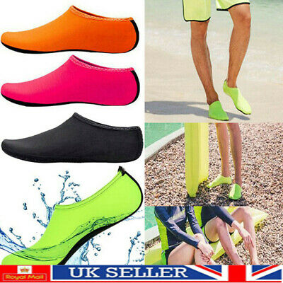 Women Men Kid Water Shoes Aqua Socks Diving Sock Wetsuit Non-slip Swim Beach Sea