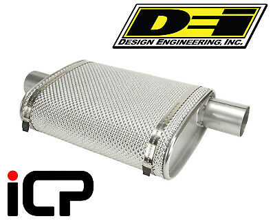 DEi Exhaust Silencer Muffler Box Heat Shield Kit