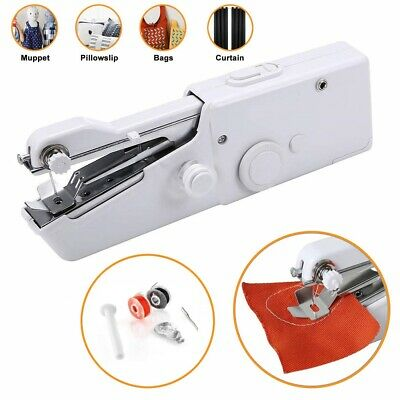 Portable Electric Handheld Cordless Sewing Hand Stitch Home Travel Clothes DIY