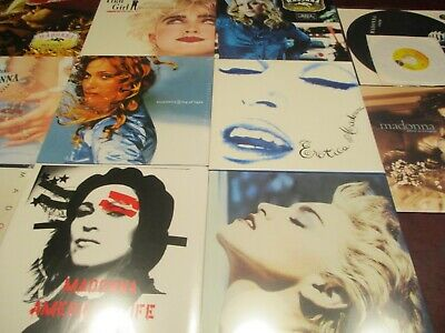 Madonna Factory Sealed 16 Various Titles 1St Eds With 23 Limited Edition Lp Set