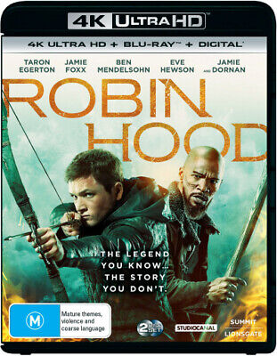 Robin Hood (2018) (4K Uhd/Blu-Ray/Digital Copy) (2018) [New Bluray]