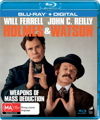 Holmes & Watson (Blu-Ray/Digital Copy) (2018) [New Bluray]
