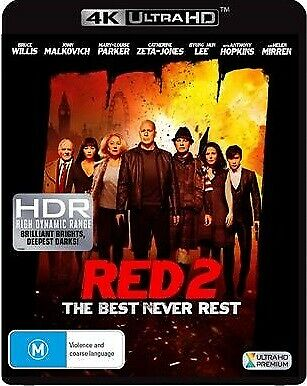 Red 2 (4K Uhd) (2013) [New Bluray]