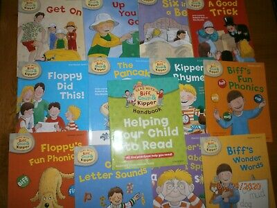 Oxford reading Tree with Biff Chip & Kipper First Stories Phonics Level 4 HB x 5