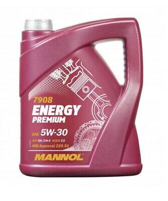 PREMIUM MANNOL Fully Synthetic German Oil 5w30 Car Engine Oil Low Saps C3 SN/CF