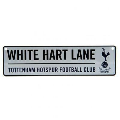 Tottenham Hotspur FC Hanging Metal 3D Novelty Street Sign White Hart Lane