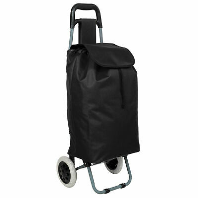 Chariot Course Caddie Pliable 2 Roues Caddy Marché Cabas Shopping Roulette Neuf