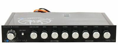 Soundstream MPQ-7XO 7 Band Car Audio Parametric Equalizer