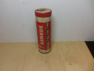 Dormer High-Speed Twist Drills vintage (1950s-1960s) metal Dispenser