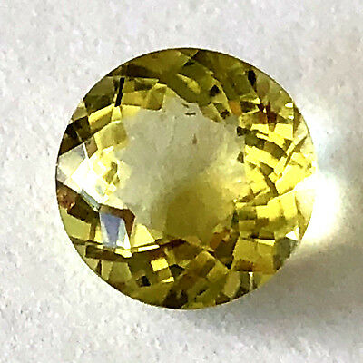 3.4 Ct Round Cut Loose Yellow Citrine Quartz Natural Gemstone Jewelry Designs